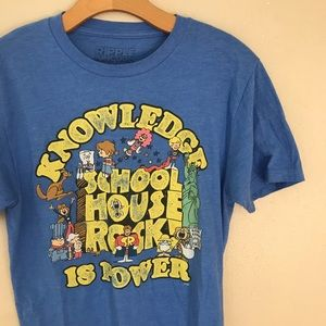 Vintage | School House Rock Sz Small Graphic Tee